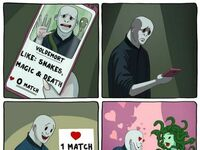Voldemort na Tinderze