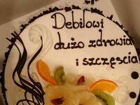 Bojownik Jaromir666 miał urodziny, a jego kumpel jest cukiernikiem