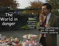 Typowy film superbohaterski od Marvela albo DC