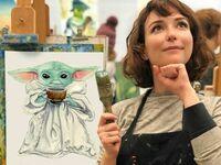 Artystka i jej dzieło