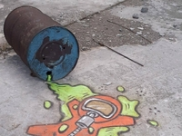 Graffiti w Czarnobylu