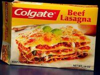 W 1982 Colgate próbowało stworzyć swoją własną lasagnę