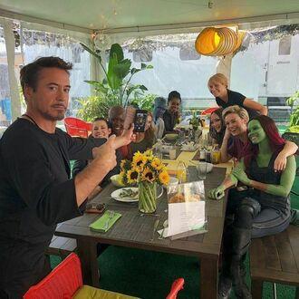 Avengers na wspólnym obiedzie