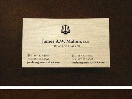 Wizytówka adwokata rozwodowego