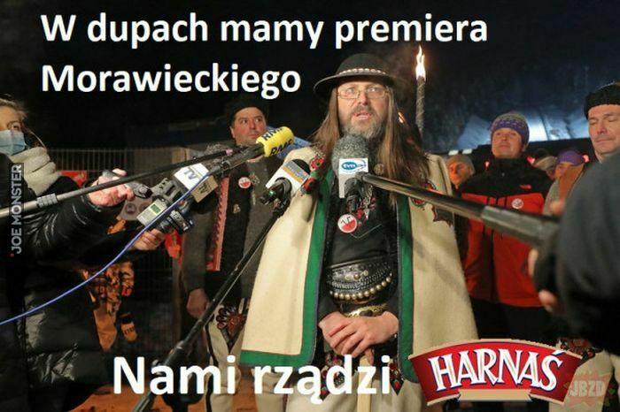 w dupach mamy premiera Morawieckiego