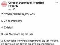 Pięć polskich powodów do dumy