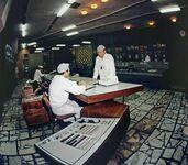 Sterownia elektrowni atomowej w Czarnobylu w dni 18 kwietnia 1986 r - 8 dni przed katastrofą