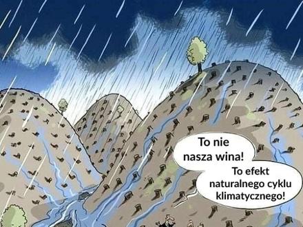 Tak, to wszystko wina natury