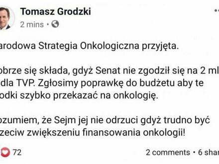 Taktyczne rozegranie 2 mld PLN