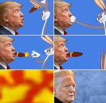 Zdjęcie opalonego Trumpa prowokuje do memów