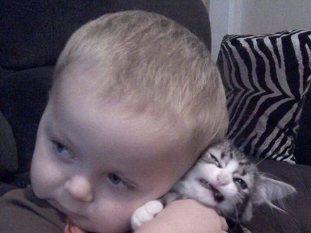 Dzieci lubią zwierzęta, ale zwierzęta nie koniecznie lubią dzieci