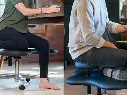 Krzesło, na którym można siedzieć po turecku