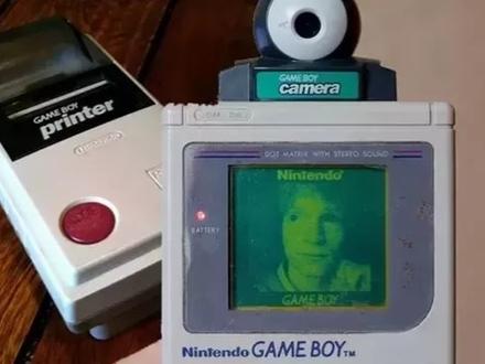 Nintendo Gameboy z kamerką - pionier fotografii cyfrowej