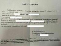 W sądzie w Krakowie chyba zaczęli zatrudniać Ukraińców