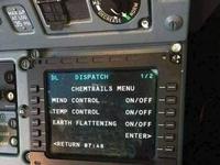 Oto dowód na chemitrails. Zdjęcie od pilota pasażerskiego