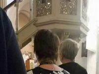 Ludzie w kościele przecierali oczy ze zdumienia