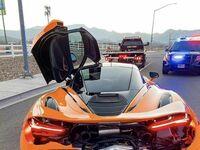 Rozbity wynajęty McLaren 720s