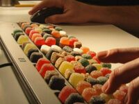 Słodka klawiatura