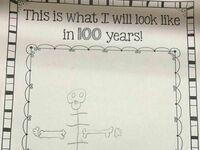 Tak będę wyglądał w wieku 100 lat