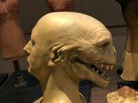 To pierwszy design Voldemorta, który wielu uważa za bardziej przerażający