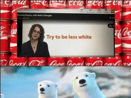 """Coca-cola radzi swoim pracownikom, żeby byli """"less white"""""""