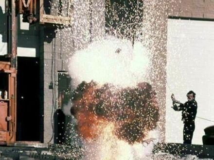 Jak kręcono sceny z Gwiazdą Śmierci w 1977 na planie Gwiezdnych Wojen