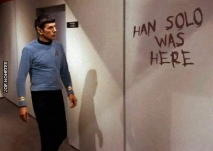 han solo was here