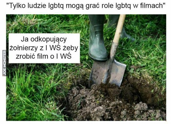 tylko ludzie lgbtq mogą grać role