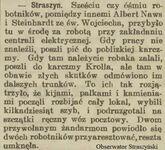 Kiedyś to umieli pisać - Gazeta Gdańska z 20 kwietnia 1909