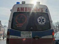Serduszka WOŚP na ambulansie