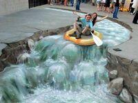 Miejski spływ
