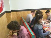 Posiłek w samotności