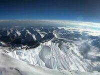 Widok z Mount Everest