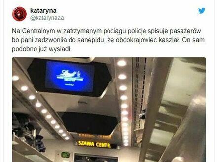 Pociąg Kołobrzeg-Kraków stał przez to przez dwie godziny w Warszawie