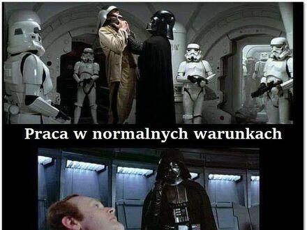 Typy pracy według Vadera