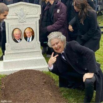 Do księcia Karola dołączył Boris Johnson