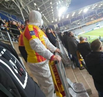 Na ostatnim meczu Korony Kielce