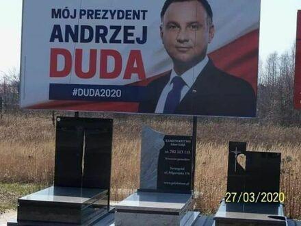 Billboard wyborczy 2020