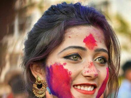 Festiwal kolorów w Indiach