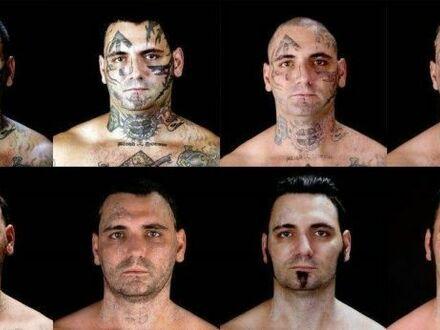 Były skinhead po usunięciu rasistowskich tatuaży po tym jak został tatą