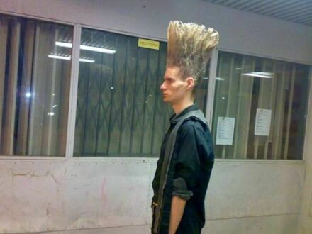 Aż włos stanął na głowie