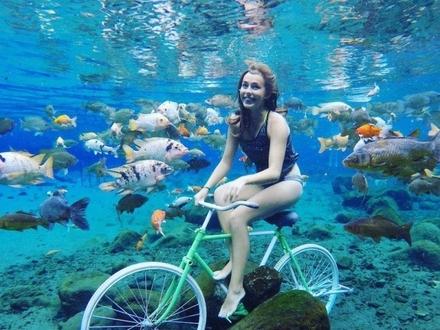 Aktywistka, która twierdzi, że rowerem można pojechać wszędzie