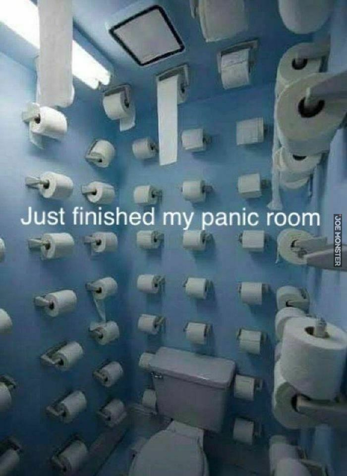 just finished my panic room