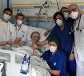 95-letnia pacjentka z Włoch została wyleczona z koronawirusa