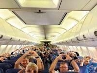 Samolot pełen lekarzy i pielęgniarek lecących do Nowego Jorku, aby pomóc