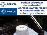 Policja ostrzega!