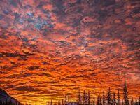 Zachód słońca w Kanadzie
