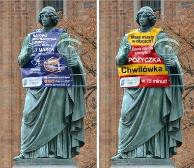 Biedny ten Kopernik, dręczą go w Toruniu
