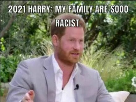 You are a nazi, Harry!