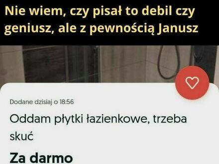 Świadomy Janusz z OLXa